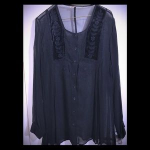 Tops - Long Flowing Blouse